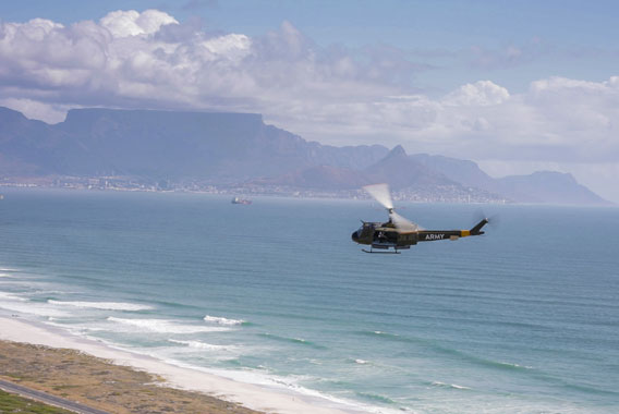 Combat Huey Flight Cape Town Helicopter Tour Gallery image 3