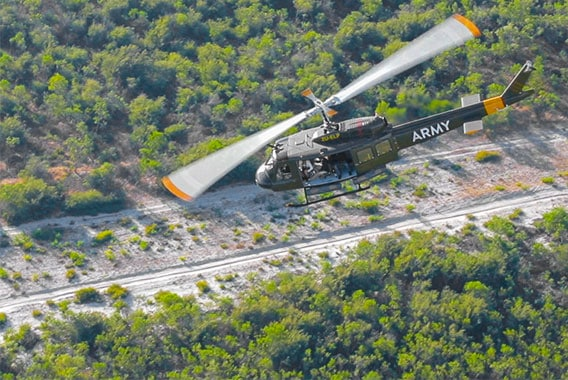 Combat Huey Flight Cape Town Helicopter Tour Gallery image 4