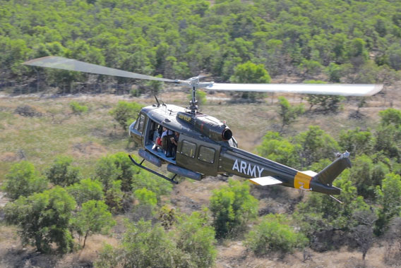 Combat Huey Flight Cape Town Helicopter Tour Gallery image 5