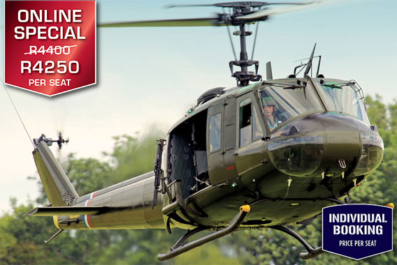 Combat Huey Flight Cape Town Helicopter Tour