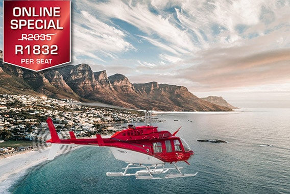 Cape Town Helicopter Tour Camps Bay Sport Helicopters V&A Waterfront