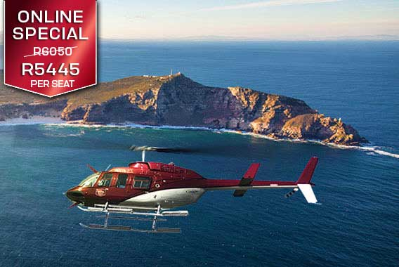 Cape Town Helicopter Tour Cape Point Sport Helicopters V&A Waterfront Vip Luxury Flight