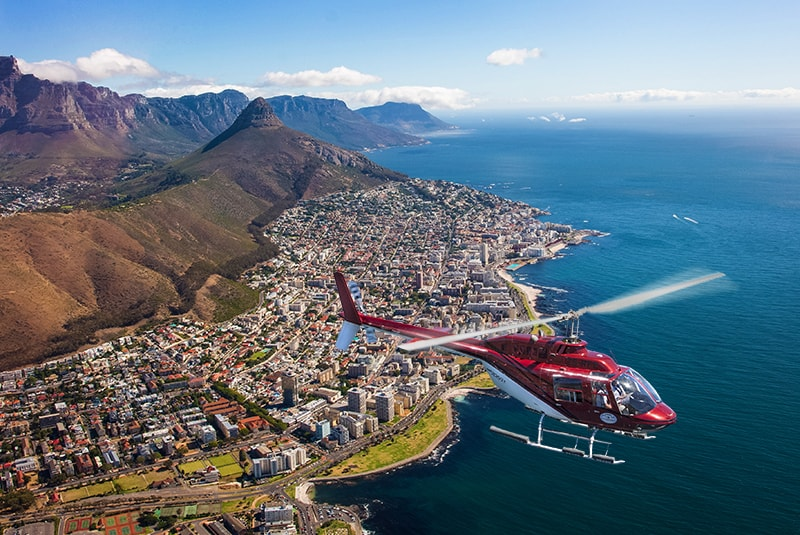 Sport Cape Town Helicopters | Tours | Two Oceans