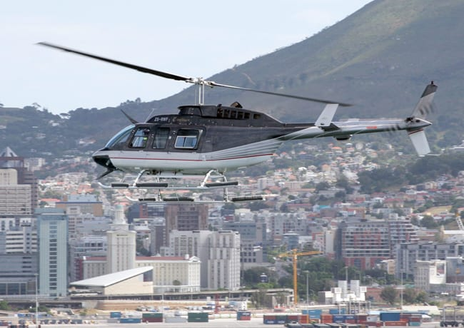Sport Cape Town Helicopters | Our Fleet | Bell Longrangers