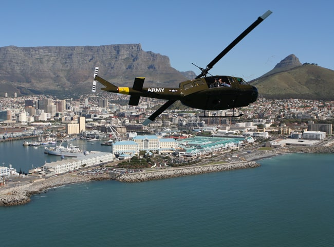 Sport Cape Town Helicopters | Our Fleet | Bell Huey