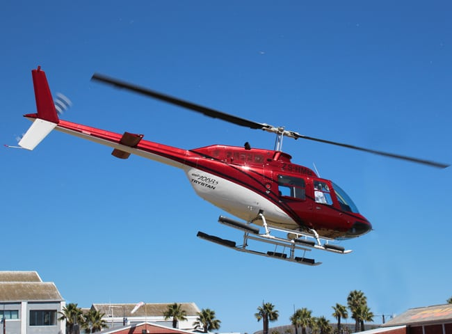 Sport Cape Town Helicopters | Our Fleet | Bell Jetranger