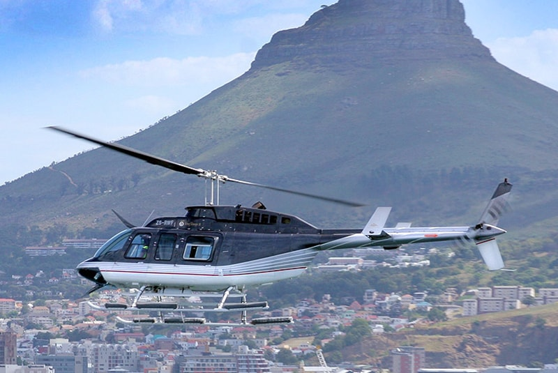 elicopter | Tours | Robben Island / Two Bay Combo