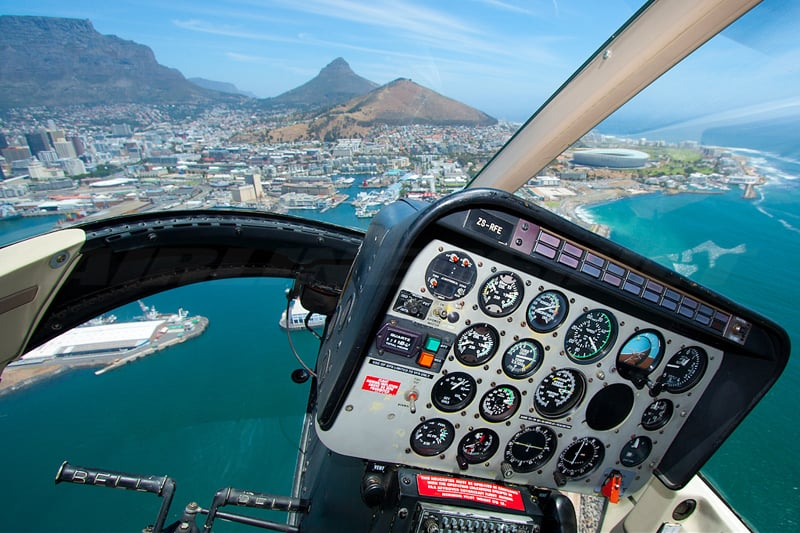 Sports Cape Town Helicopter | Tours | Robben Island / Two Bay Combo