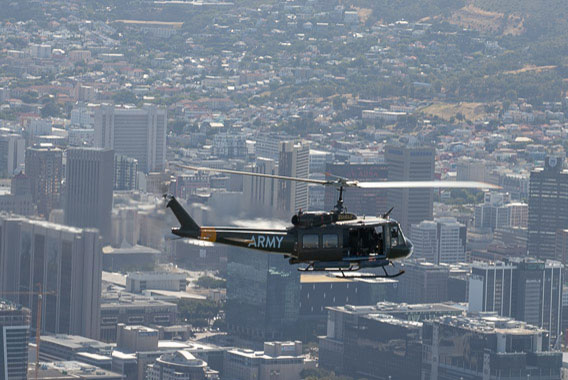 Combat Lite Huey Flight Cape Town Helicopter Tour Gallery image 4