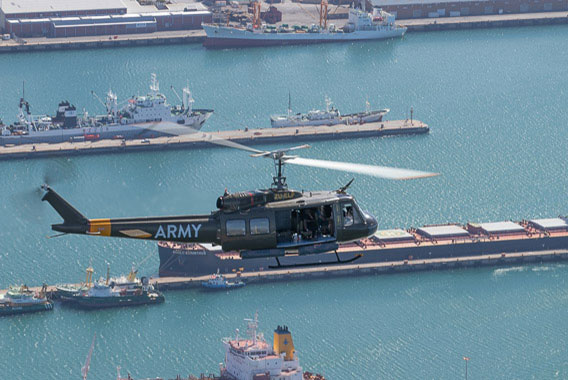 Combat Lite Huey Flight Cape Town Helicopter Tour Gallery image 3