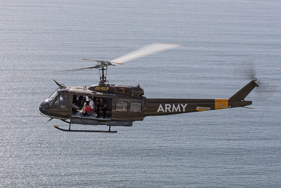 Combat Lite Huey Flight Cape Town Helicopter Tour Gallery image 1