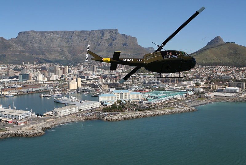 Sport Cape Town Helicopters | Tours | Huey Hopper