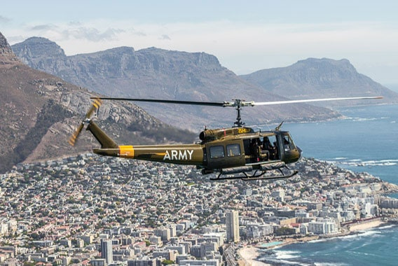 Huey Sport Helicopters Cape Town Hopper Flights Gallery 1