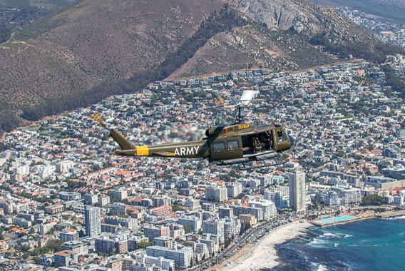 Huey Sport Helicopters Cape Town Hopper Flights Gallery 2