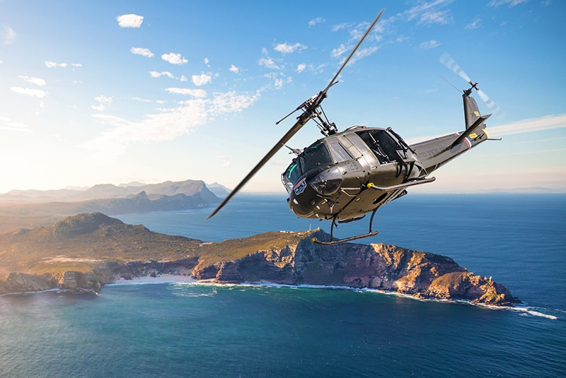 Sport Helicopters | Adventure Flights | Cape Point