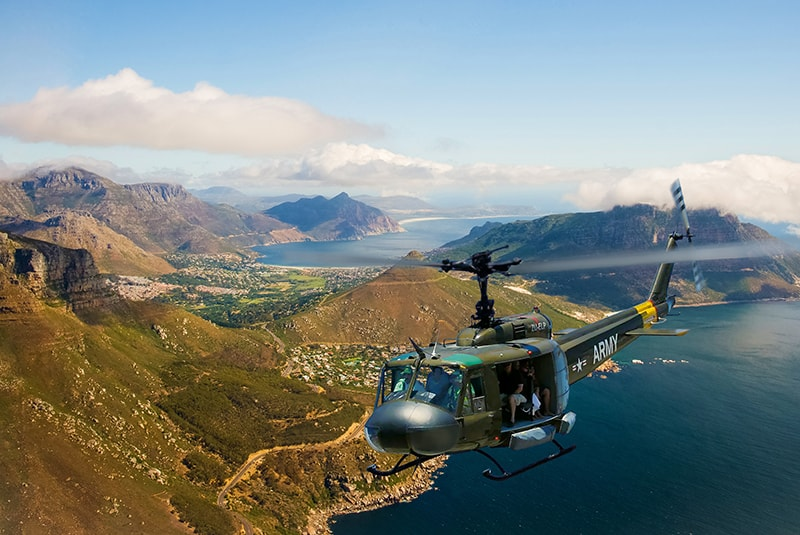 Sport Helicopters | Adventure Flights | Two Oceans