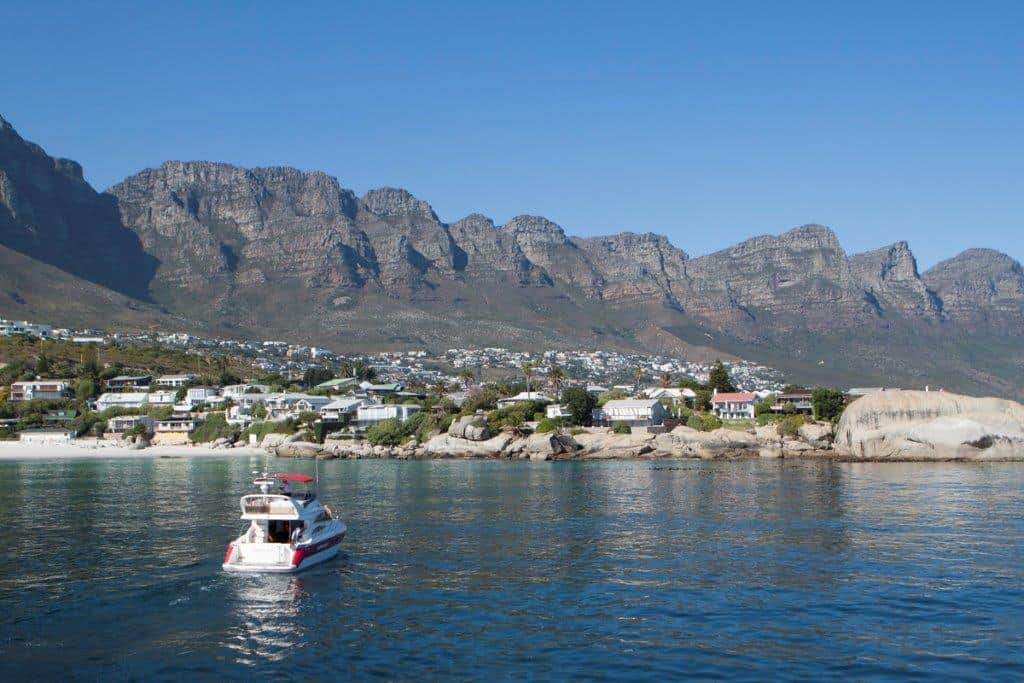 Clifton Shores Cape Town Boat yacht Cruise Charter Cape Town