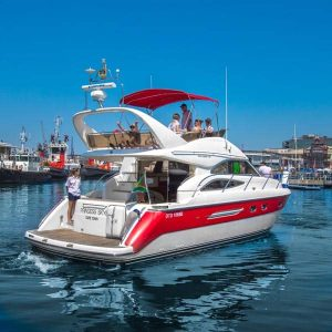 Sport Motor Yachts bot charter cruise private Cape Town