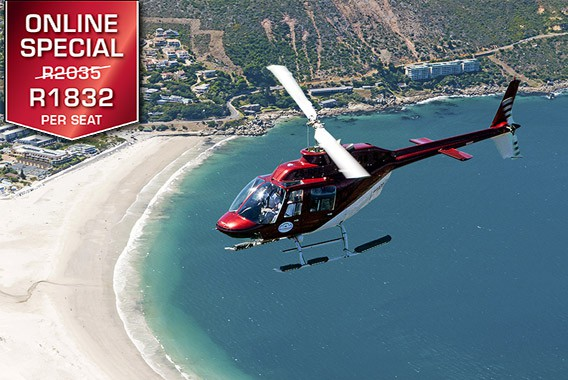 Cape Town Helicopter Tour Camps Bay