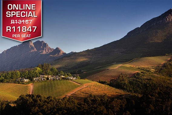 Sport Cape Town Helicopters | Exclusive flights and transfers | Winelands