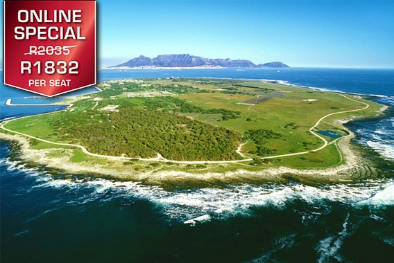 Cape Town Helicopter Tour Robbin Island Sport Helicopters V&A Waterfront