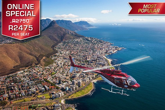 Cape Town Helicopter Tour Two Oceans Feature