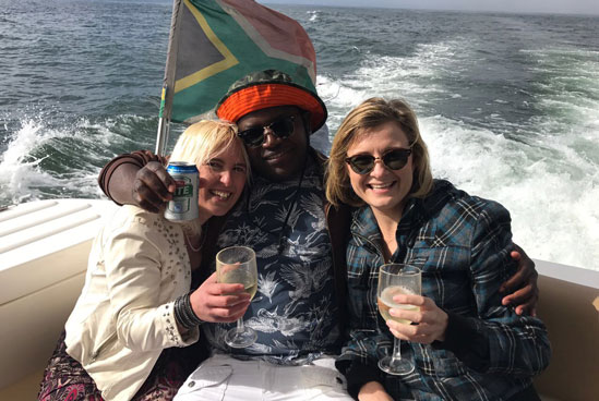 Sport Motor Yachts sundowners cruise boat trip private sunset