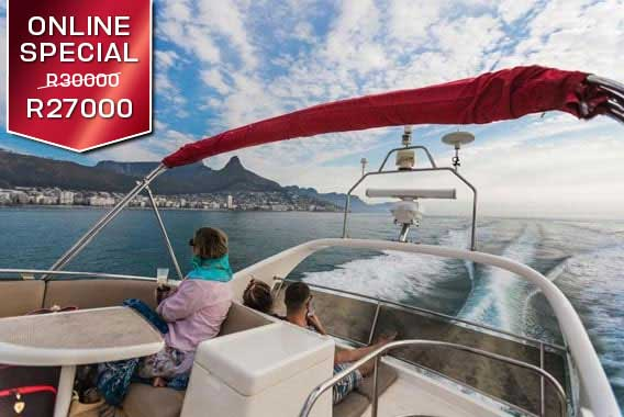 Grand Clifton Experience Boat Yacht cruise charter
