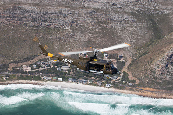 Huey Sport Helicopters Cape Town Two Oceans 5
