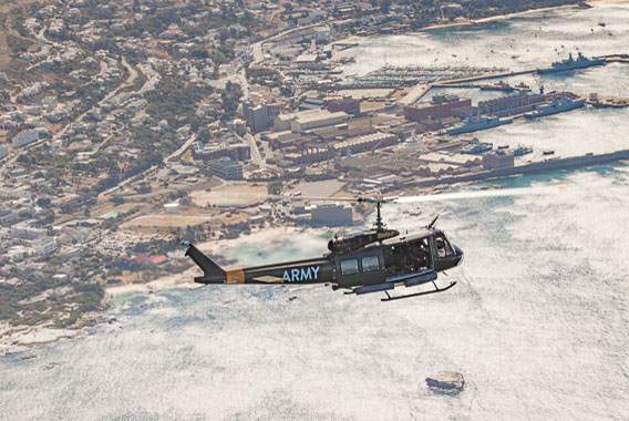 Huey Sport Helicopters Cape Town Two Oceans 6