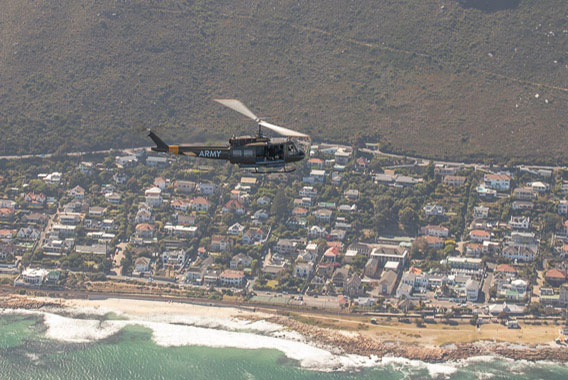 Huey Sport Helicopters Cape Town Two Oceans 7