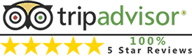 5 Star Rating on TripAdvisor   Sport Helicopters Cape Town