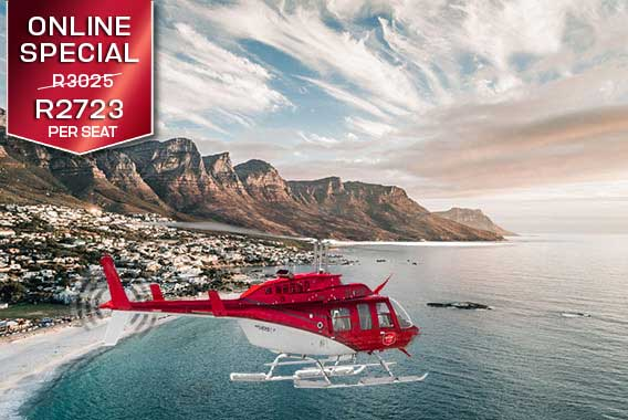 Cape Town Helicopter Tour Two Oceans Sport Helicopters V&A Waterfront Vip Luxury Flight