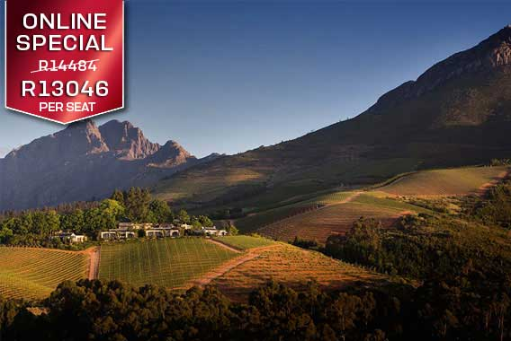 Sport Cape Town Helicopters | Exclusive flights and transfers | Winelands Winefarms