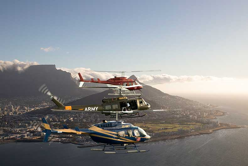 Cheapest Helicopter Flights Cape Town